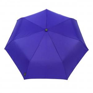 Parapluie pliant femme automatique bleu électrique