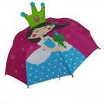 Parapluie droit enfant automatique princesse