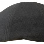 Casquette plate Texas Wool/Cashmere Earflaps Stetson noir