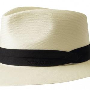 Chapeau Panama Jefferson Stetson blanc crème