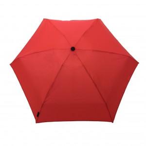 Parapluie pliant ultra-léger rouge automatique