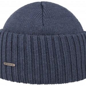 Bonnet en tricot Northport Merino Wool Stetson denim
