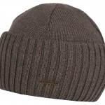 Bonnet en tricot Northport Merino Wool Stetson taupe