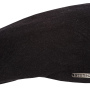 Casquette plate Madison Wool Cashmere Stetson anthracite