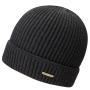 Bonnet en tricot Parkman Stetson noir