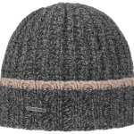 Bonnet à revers Malcott Wool Stetson gris