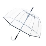 Parapluie Big Cloche femme transparent