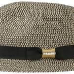 Chapeau Traveller Newkirk Toyo Stetson noir-blanc
