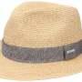 Chapeau Traveller Nark Toyo Stetson beige-moucheté