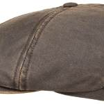 Casquette Brooklin Old Cotton Stetson marron