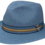 Chapeau Traveller Monticello Toyo Stetson bleu