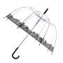 Parapluie cloche femme transparent dentelle