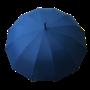 Parapluie droit homme automatique bleu