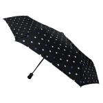 Parapluie pliant Pois nuages bleu femme automatique