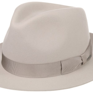 Chapeau Penn Bogart Stetson beige clair