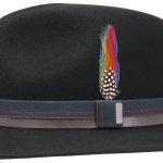 Chapeau en feutre Traveller Parlesto Stetson noir