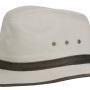 Chapeau Traveller Ava Cotton Stetson beige clair