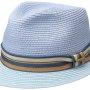 Chapeau trilby Licano Toyo Stetson bleu clair