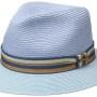 Chapeau Traveller Romaro Toyo Stetson bleu clair
