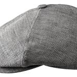 Casquette Brooklin Linen Stetson gris