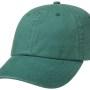 Casquette baseball Rector Stetson vert sapin