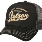 Casquette Trucker Cap Racing Team Stetson noir