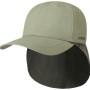 Casquette baseball avec couvre-nuque Stetson olive clair