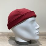 Bonnet Docker coton rouge