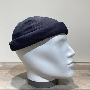 Bonnet Docker coton jean bleu