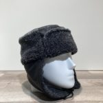 Chapka Sherpa anthracite doublure polaire