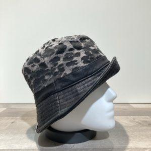 Chapeau bob bi matière Boby noir-léo doublé