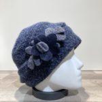 Bonnet bleu doublure polaire