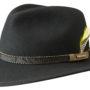 Chapeau malléable Valrico Vitafelt Stetson noir