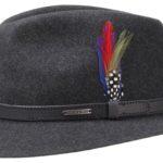 Chapeau en feutre Traveller Powell Stetson anthracite