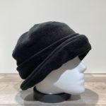 Chapeau cloche polaire noir doublé