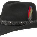 Chapeau en feutre Western Ondello Stetson noir