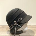 Cloche feutre laine noir