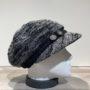 Casquette gavroche noir élastiquée doublure polaire