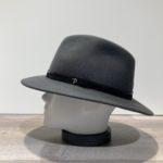 Chapeau feutre laine gris