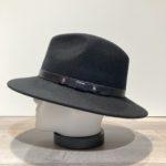 Chapeau traveller feutre laine noir