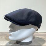 Casquette laine marine Gore-Tex avec cache-oreilles rabattables doublée coton Göttmann