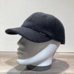 Casquette baseball laine gris anthracite avec cache-oreilles rabattables Göttmann
