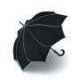 Parapluie droit mixte automatique Sunflower Pierre Cardin noir