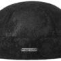 Bonnet Docker cuir Pigskin Stetson noir