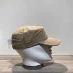Casquette cubaine coton beige ajustable