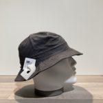 Bob coton gris foncé ajustable