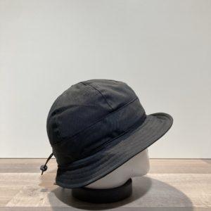 Bob coton noir ajustable doublé