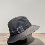 Chapeau bob de pluie gris anthracite doublé