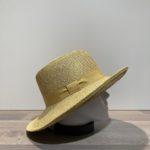 Chapeau cloche jaune