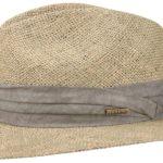 Chapeau paille Seagrass Caney Stetson nature